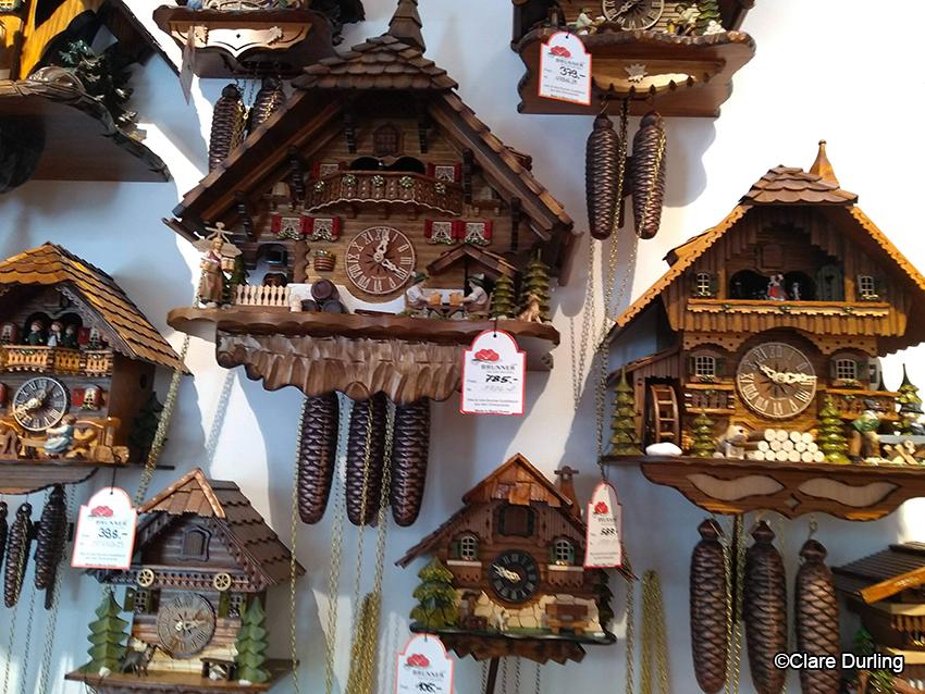 Cuckoo Clocks at Titisee