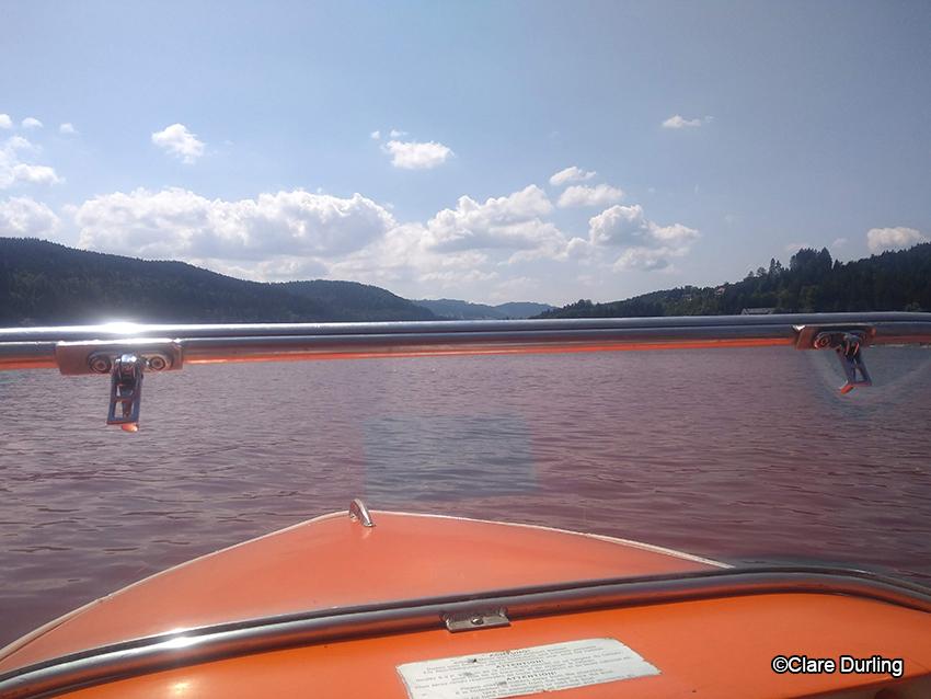 Pedallo on Lake Titisee