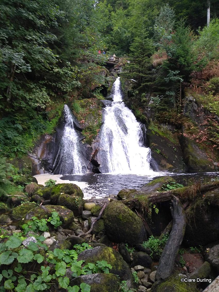 Triburg waterfalls