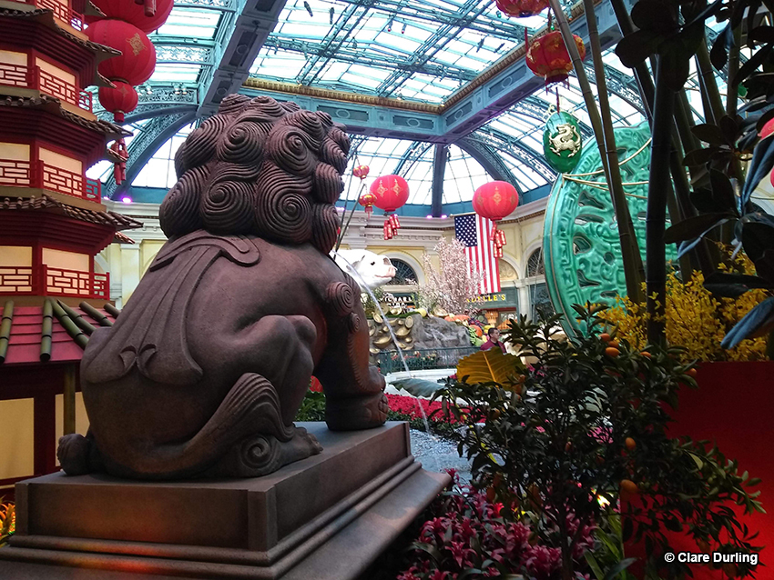 Chinese New Year Lobby Display, Belagio, Las Vegas, NV