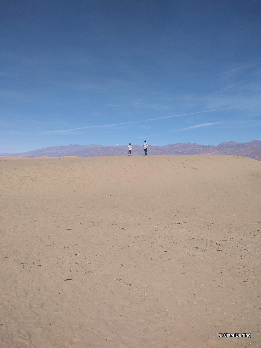 February in Tatooine - Mesquite Sands, Death Valley, CA