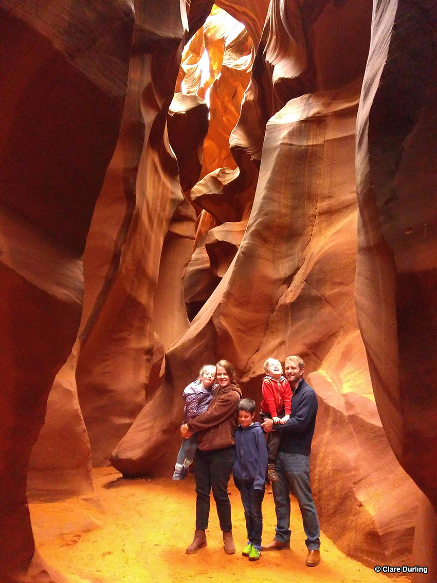 Lower Antelope Canyon walking tour, Page Arizona